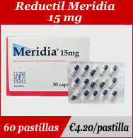 Reductil Meridia 15mg